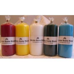 Świeczki w 5 kolorach [duże]