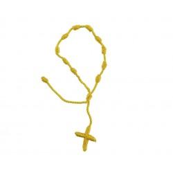 Różaniec ze sznurka na rękę...